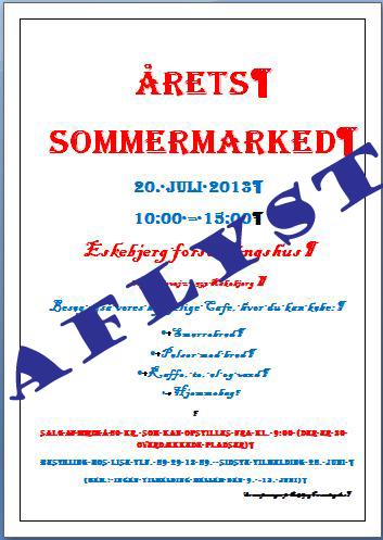 Sommermarked